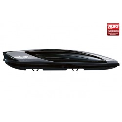 Thule Excellence XT Roof Box- Black Glossy & Titan Metallic