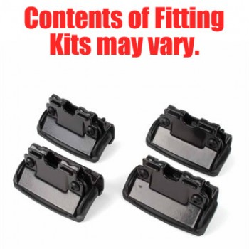 Thule Rapid Fixpoint Flush Rail Fitting Kit 4009